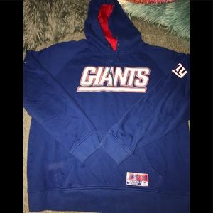 NY Giants Hoodie Size Large